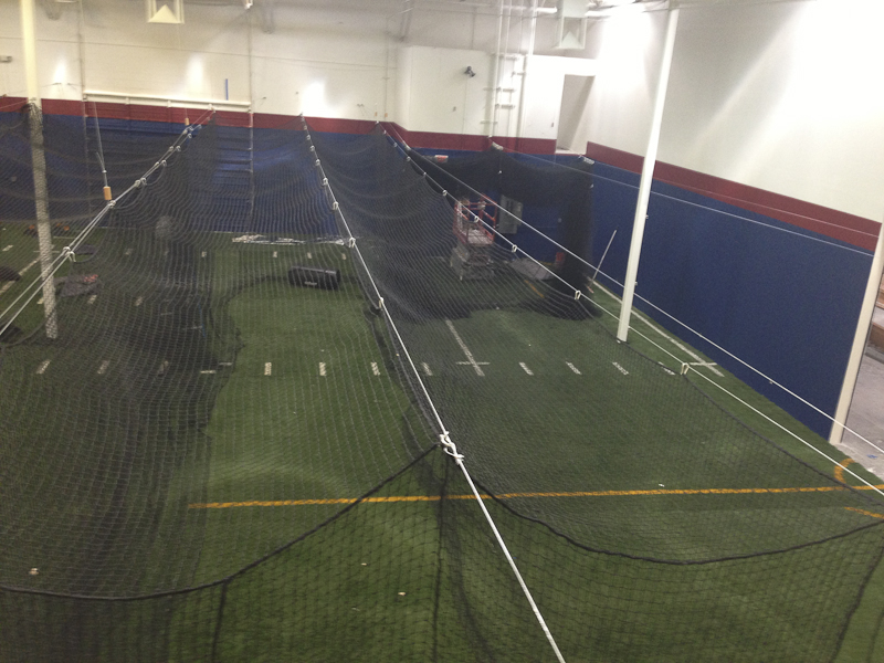 Scottsdale Batting Cages Constuction